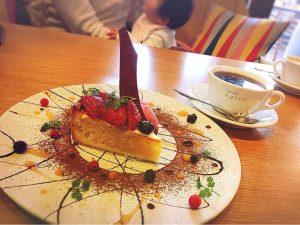 ajicoケーキ